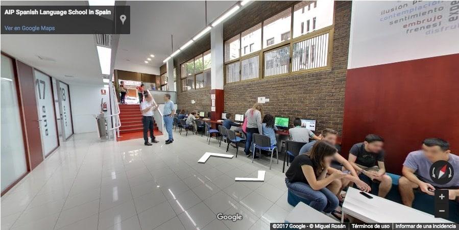 Ecole d'espagnol AIP à Valencia 7
