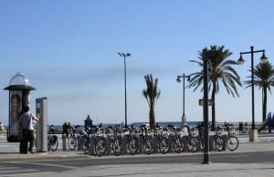 Plage de Valence - Station Valenbisi