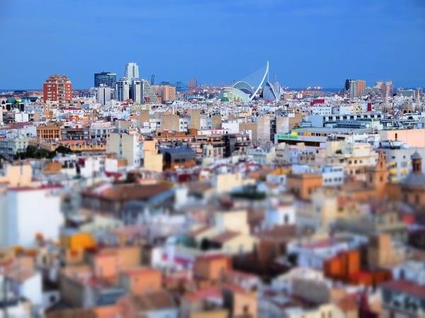 Valencia desde arriba
