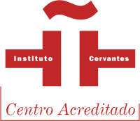 Logo for our accreditation in the instituto cervantes